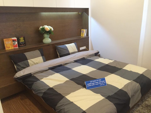 Phòng ngủ căn hộ mẫu tại FLC Star Tower