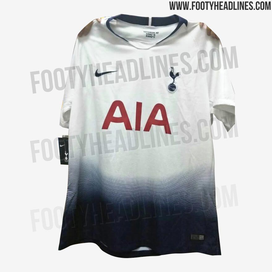 2288a7e63 NEW Pictures  Nike Tottenham Hotspur 18-19 Home Kit Leaked