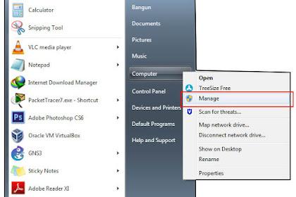 3 Cara Membuka Disk Management di Windows XP/7/8/8.1/10