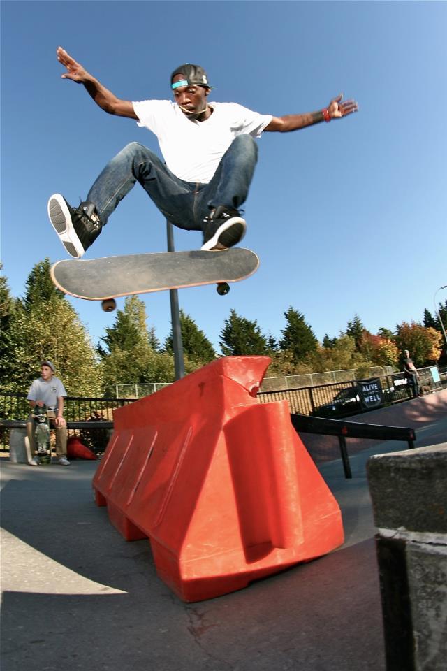 Bellevue Skatepark: October 2012