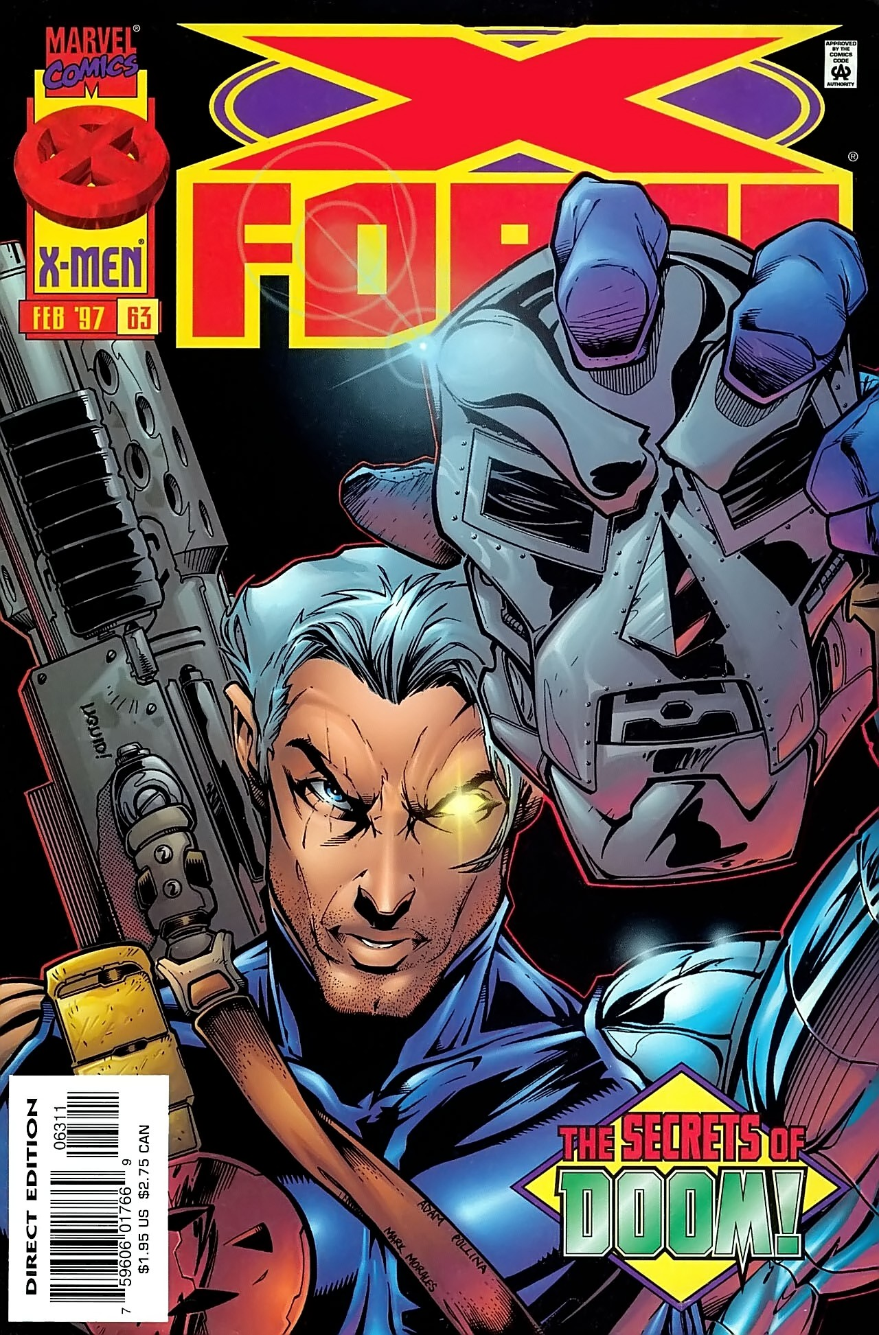 Read online X-Force (1991) comic -  Issue #63 - 1