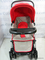 3 Kereta Bayi BabyDoes CH362 Crusader dengan 3 Layer Canopy