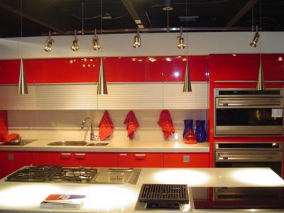 Hogares frescos dise os de cocinas rojas for Cocinas hechas a mano