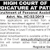 Patna High Court Recruitment 2019 for 131 Personal Assistant