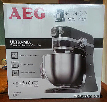 AEG ULtramix KM4400 Food Mixer Review