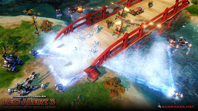 Command & Conquer Red Alert 3 Gameplay Screenshot 1