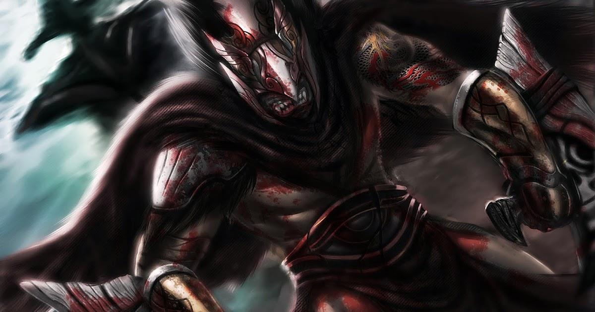 Bloodseeker Dota 2 Art Wallpaper HD