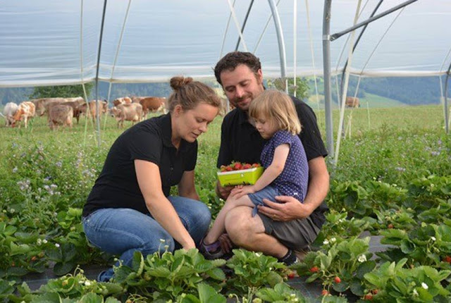 Knospe-Landwirtin Anna Joss vom Biohof Oberzinggen in Malters LU
