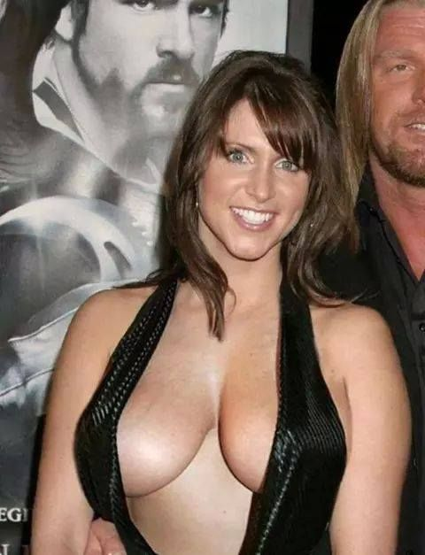 Have Naked stephanie mcmahon tits what