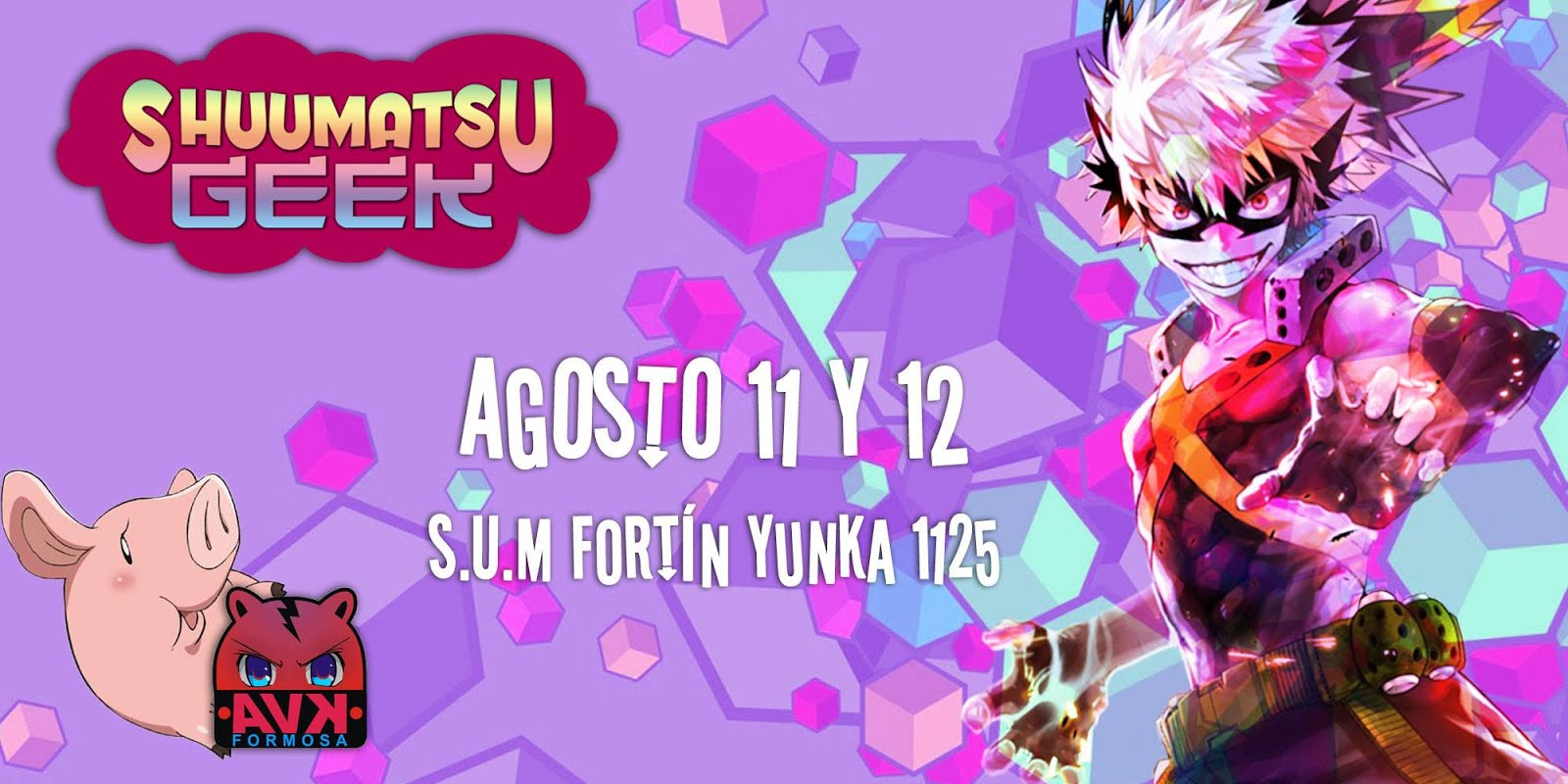 SHUUMATSU GEEK 2018 - Formosa, Capital.
