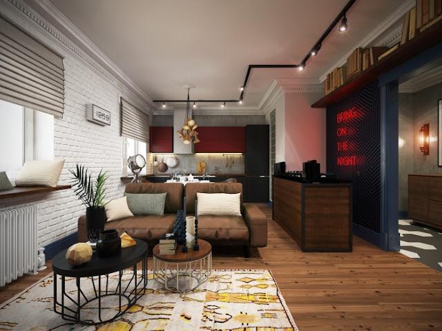Virlova interiorismo for Decoracion apartaestudios