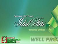 Selamat Hari Raya Idul Fitri 2017