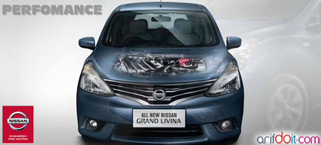 Nissan Grand Livina memiliki Perfomance Mesin mumpuni