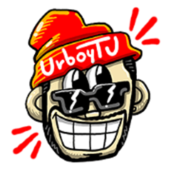 UrboyTJ Sticker