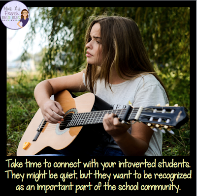This blog post describes some ways teachers can help introverted children thrive in school.  Click here to read the full article.