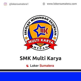 Lowongan Kerja Medan: SMK Multi Karya Juni 2021