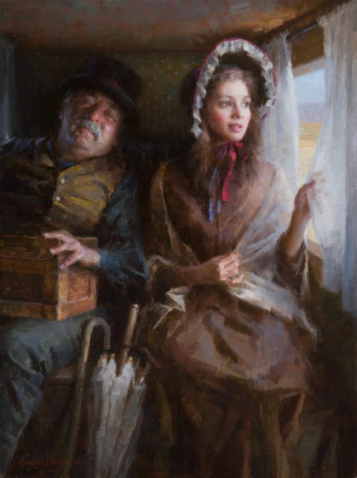 Американский художник. Morgan Weistling 15
