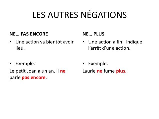 Przeczenie - gramatyka 7 - Francuski przy kawie