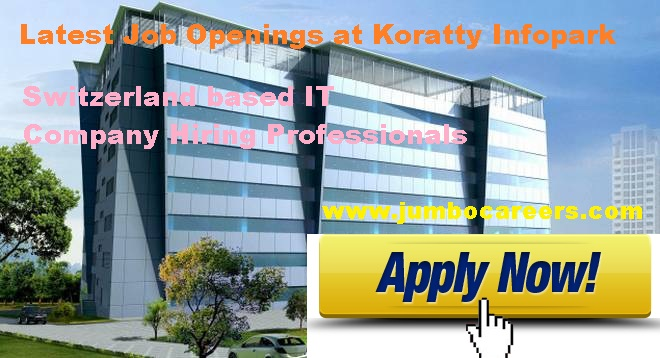 Koratty Infopark jobs salary.