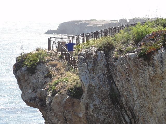 Steve on cliff