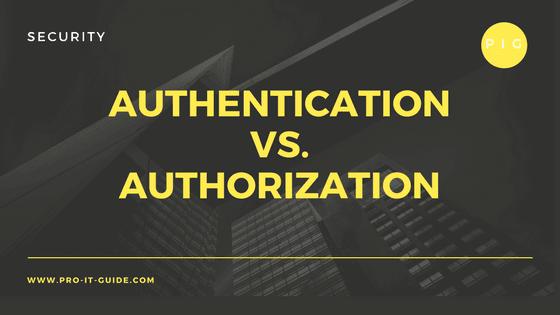 Authentication аnd Authorization