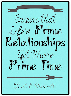 Giving Prime Relationships Prime Time