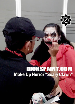make up horror clawn jakarta