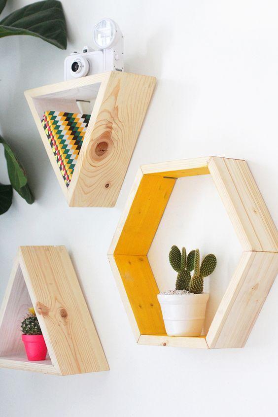Formas geométricas para decorar tus paredes