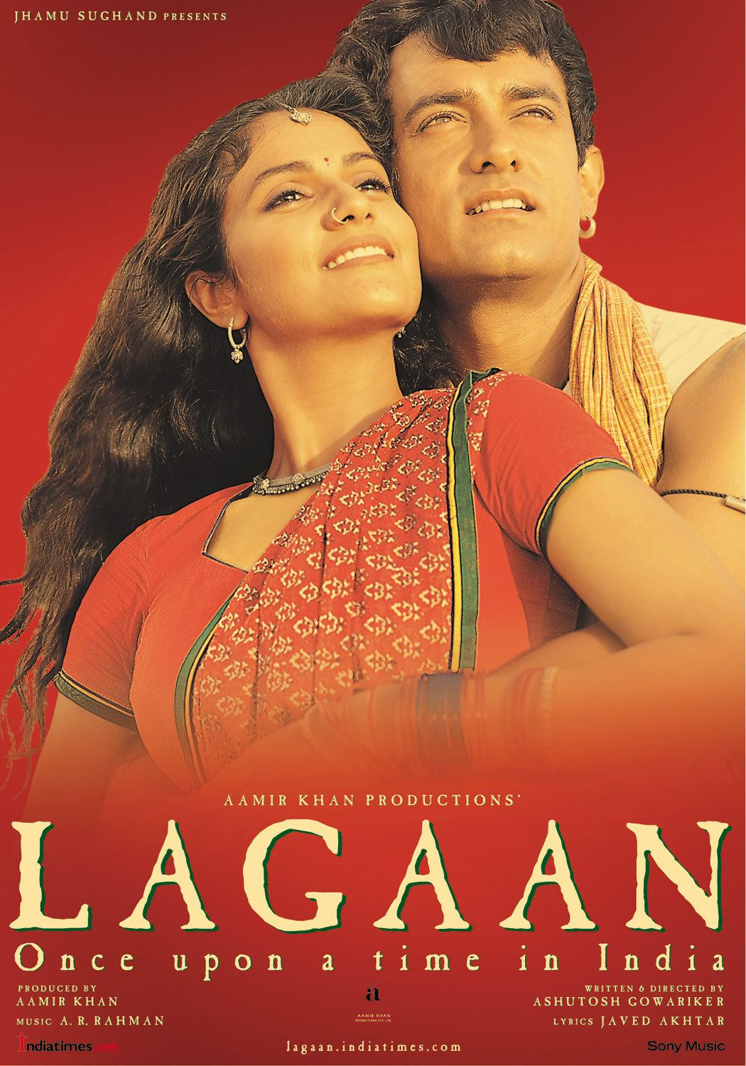 Lagaan 2001 Hindi Movie 720p HDRip 1.5GB