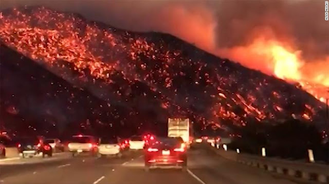 kebakaran california 2017