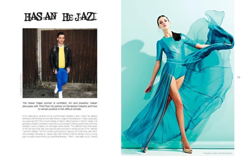 Living In A Fashion World Interview With Fashion Designer Hasan Hejazi