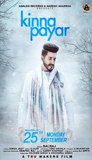 Kinna Payar Lyrics – Balraj | G Guri Song