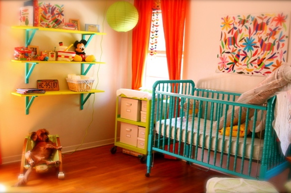 Emmyloubeedoo Bright Amp Eclectic Baby Rooms
