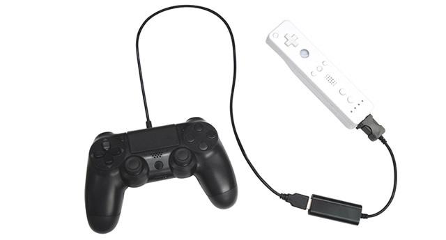 Αντάπτορας επιτρέπει την σύνδεση ενός PlayStation χειριστηρίου σε Wii U 1