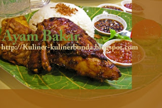 Daging ayam selain gampang dibeli dipasar Resep Ayam Bakar Nikmat dan Halal