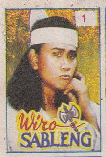 Wiro sambleng atau yang terkenal dengan sebutan sinto gendeng merupakan pendekar yang memiliki senjata Kapak Maut Naga Geni 212.