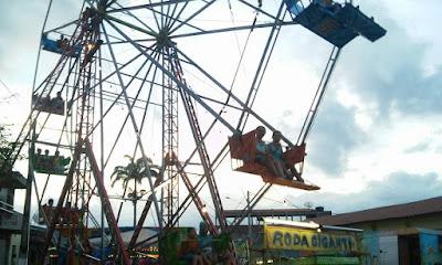 Local: Parque de Diversão gratuito durante Festa de Santa Ana.