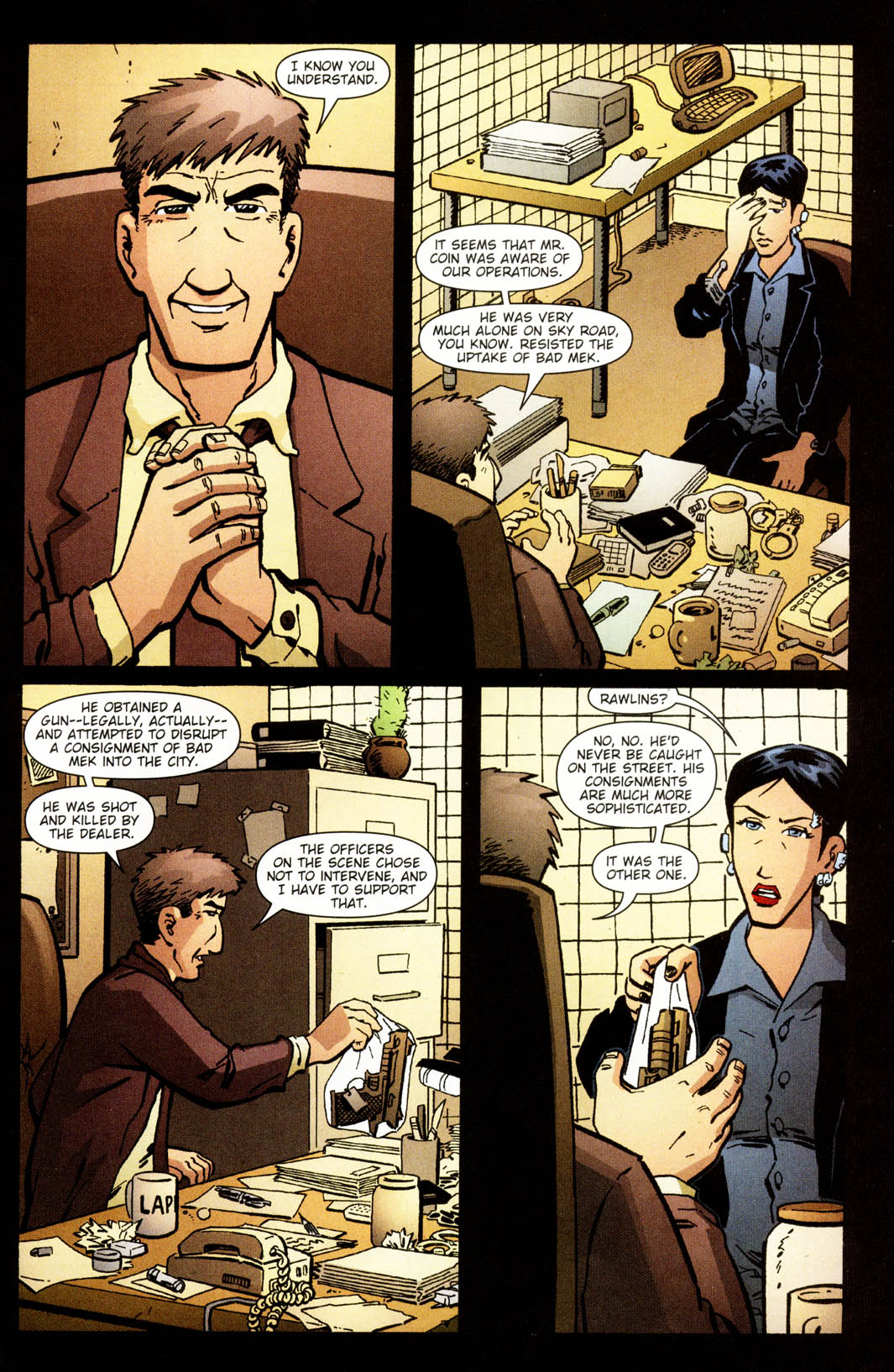 Read online Mek comic -  Issue #2 - 24