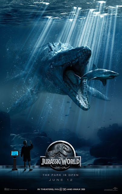 Jurassic World, Movie Poster, Directed By Colin Trevorrow