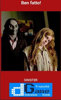 Soluzioni Quiz Horror Movie livello 25