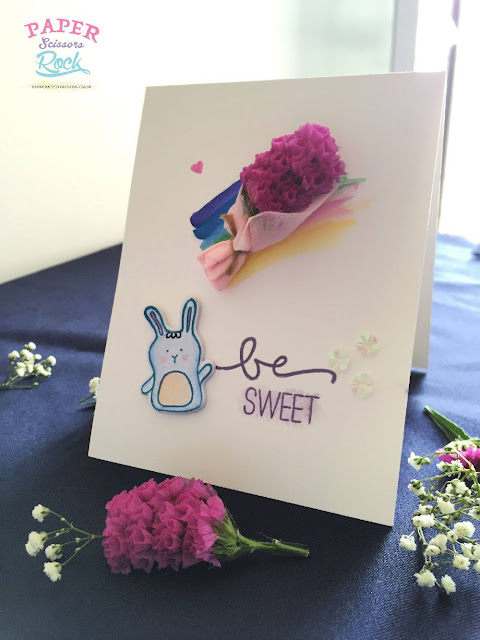 Easy Card Making Using Flowers