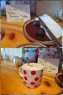Westport Ireland: Truffles and Coffee at Christy's Harvest