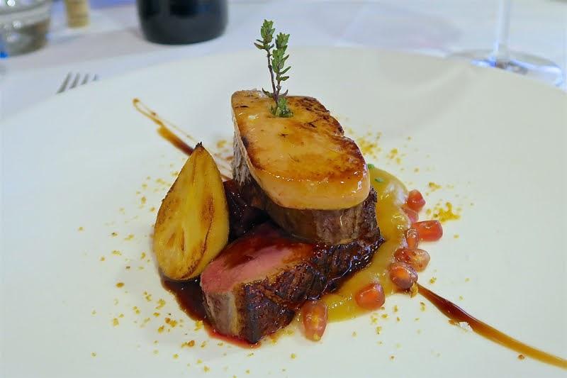 Hector Oribe リオハのレストラン エクトル・オリベの鴨のロースト