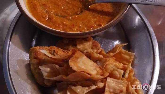 Resep cara membuat batagor kering sambel kacang