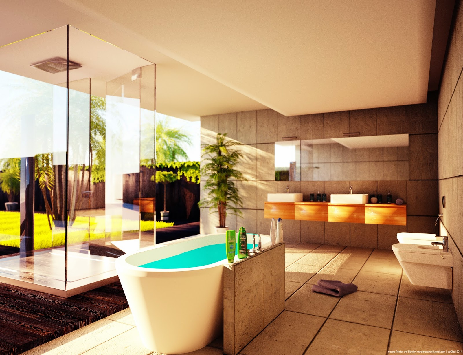 OTOY Forums • View topic - Bathroom Architectural Rendering Tutorial