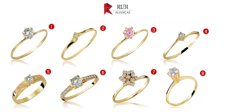 40dfe3d81d6 4) Anel de Ouro Romantic Crystalis 5) Anel de Ouro Lucida Crystalis 6) Anel  de Ouro Amplexus Crystalis