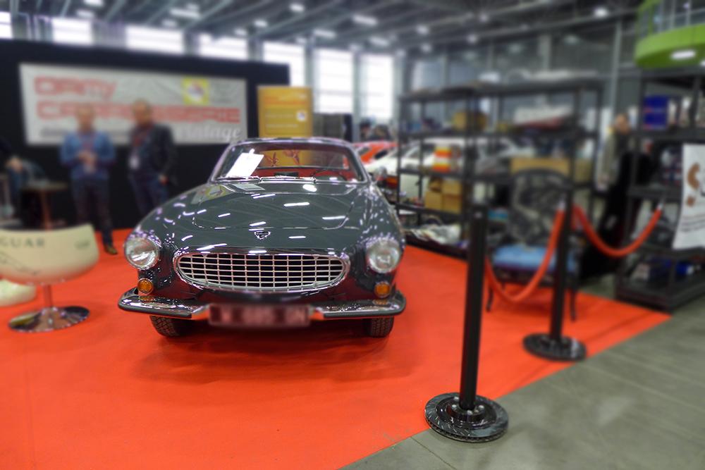 Exposition Historic Auto à la beaujoire de Nantes, salon du véhicule de collection