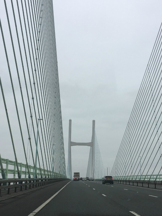 Our-Weekly-Review-Cefn-Mably-Farm-Park-and-a-Horse-Ride-second-severn-crossing-in-the-fog