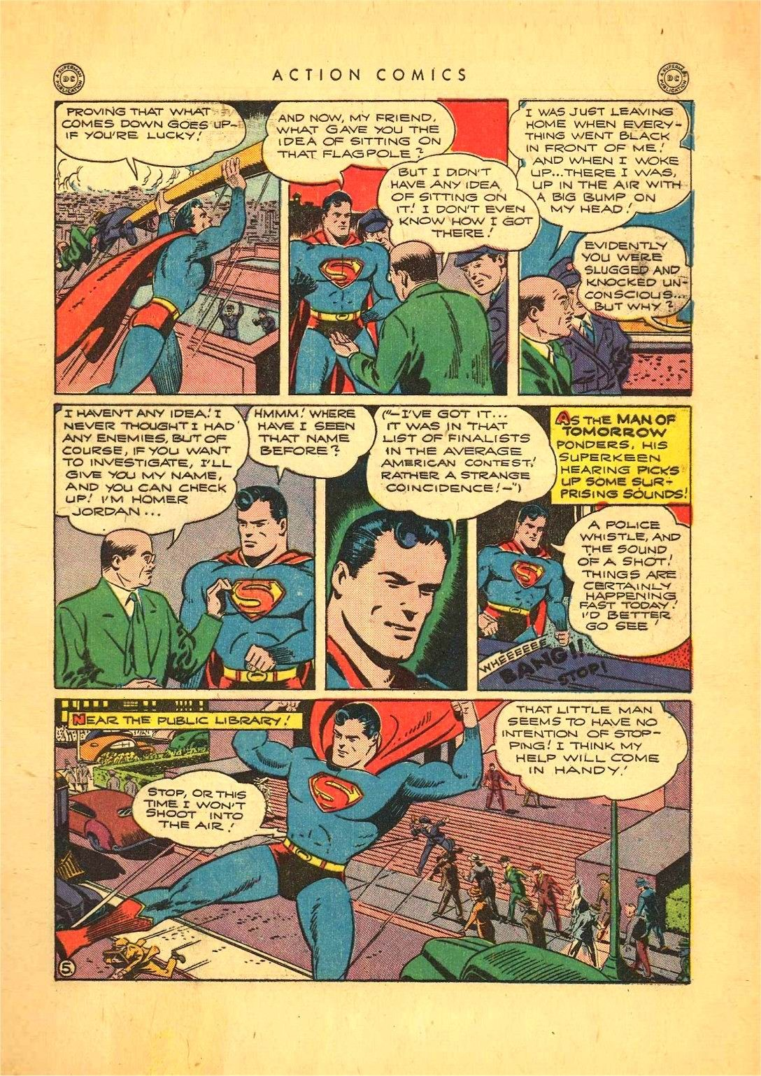 Read online Action Comics (1938) comic -  Issue #92 - 7