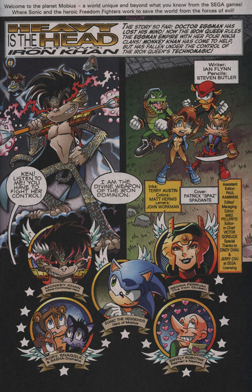 Read online Sonic The Hedgehog comic -  Issue #204 - 2
